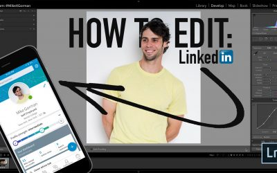 Edit LinkedIn Photos (Lightroom Tutorial)